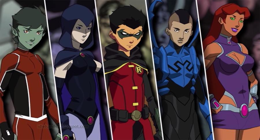 Análisis de la pelicula Justice League vs Teen Titans