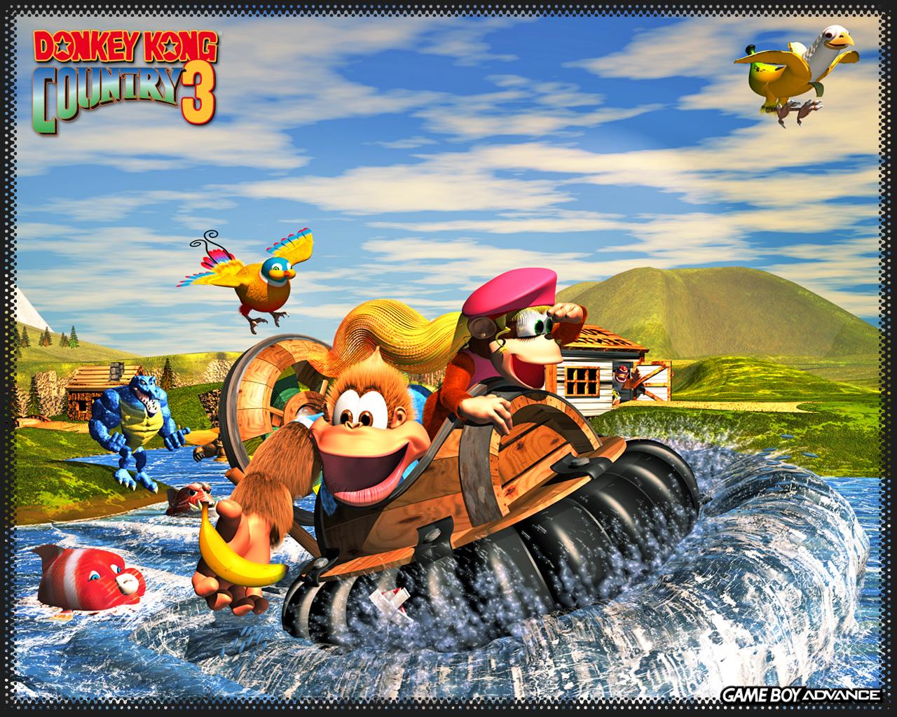 Donkey Kong Country 3 llega el 2 de Junio al 3DS