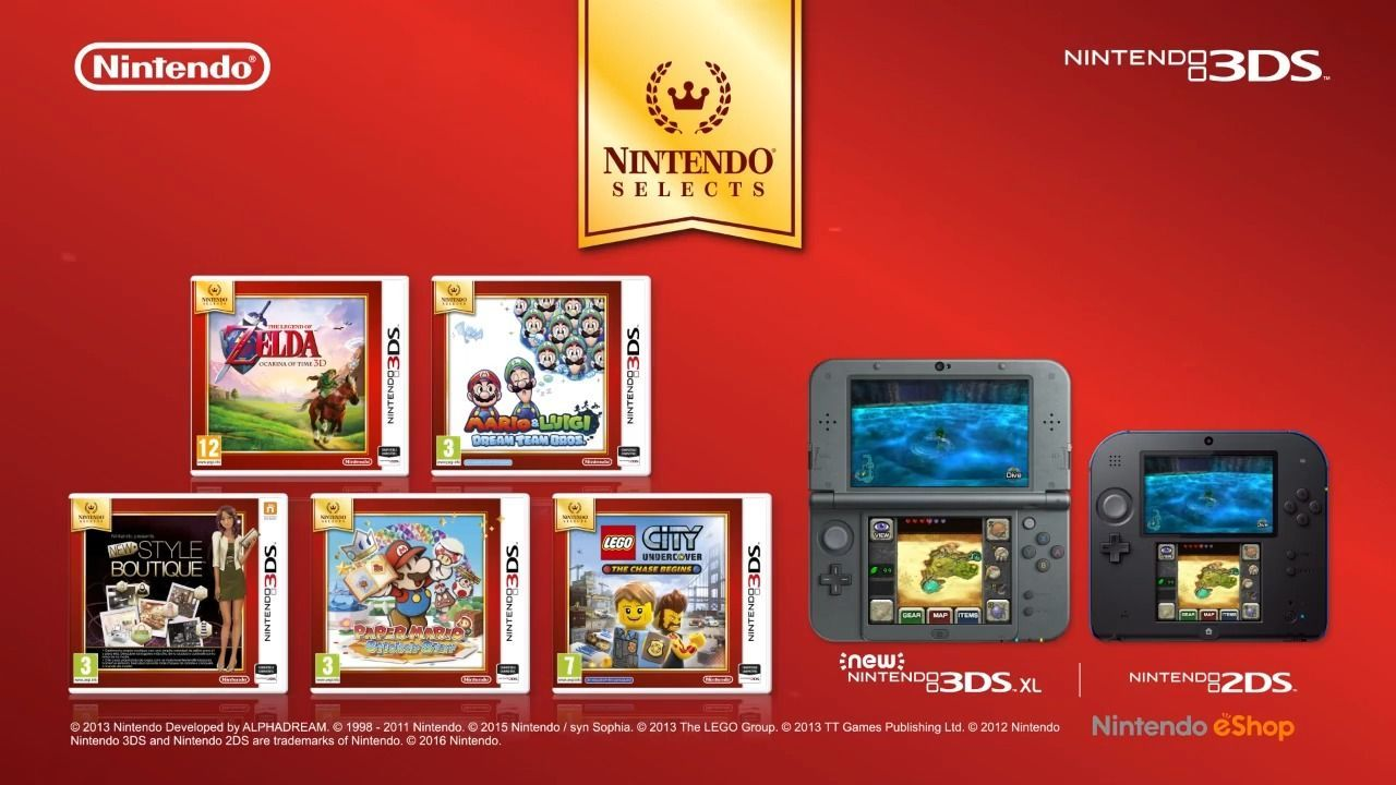 Nintendo Selects llegan nuevos títulos en Junio