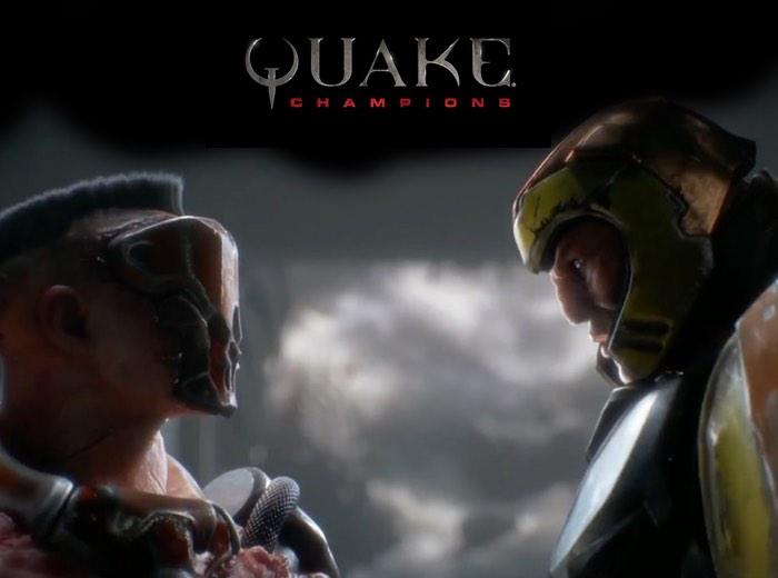 Quake Champions Llena Mega Frenético Al E3 2016