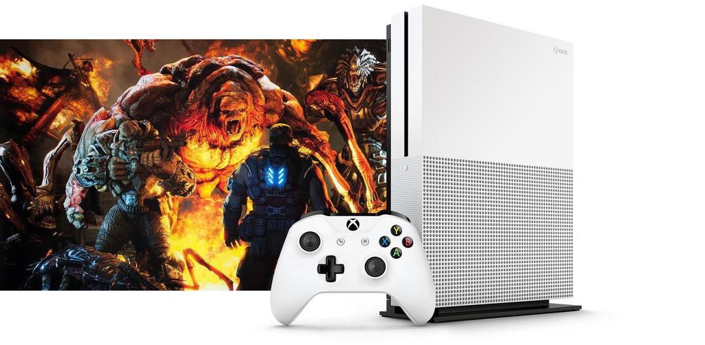 Xbox One Slim Más pequeño, 4K y 2 TB (Imágenes)