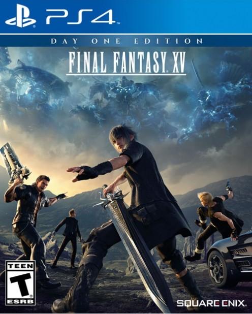 Portada de final fantasy XV PS4