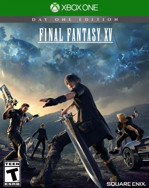 Portada de final fantasy XV Xbox One