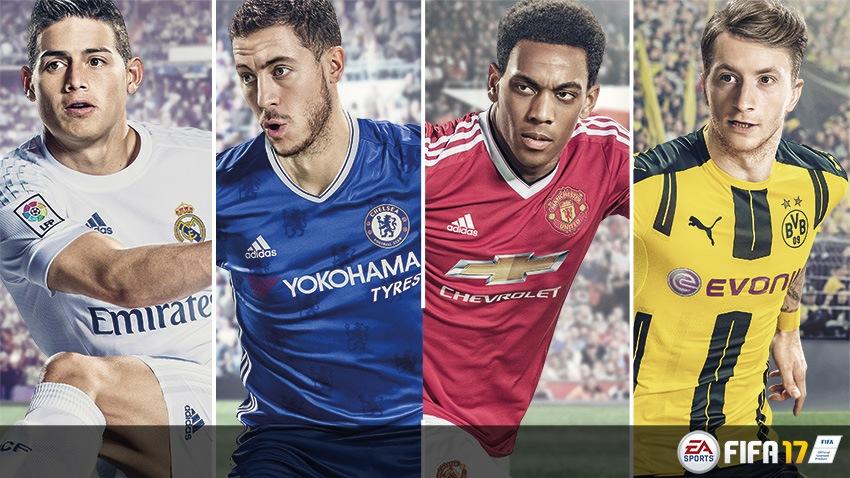 FIFA 17 tendrá portada elegida por fans