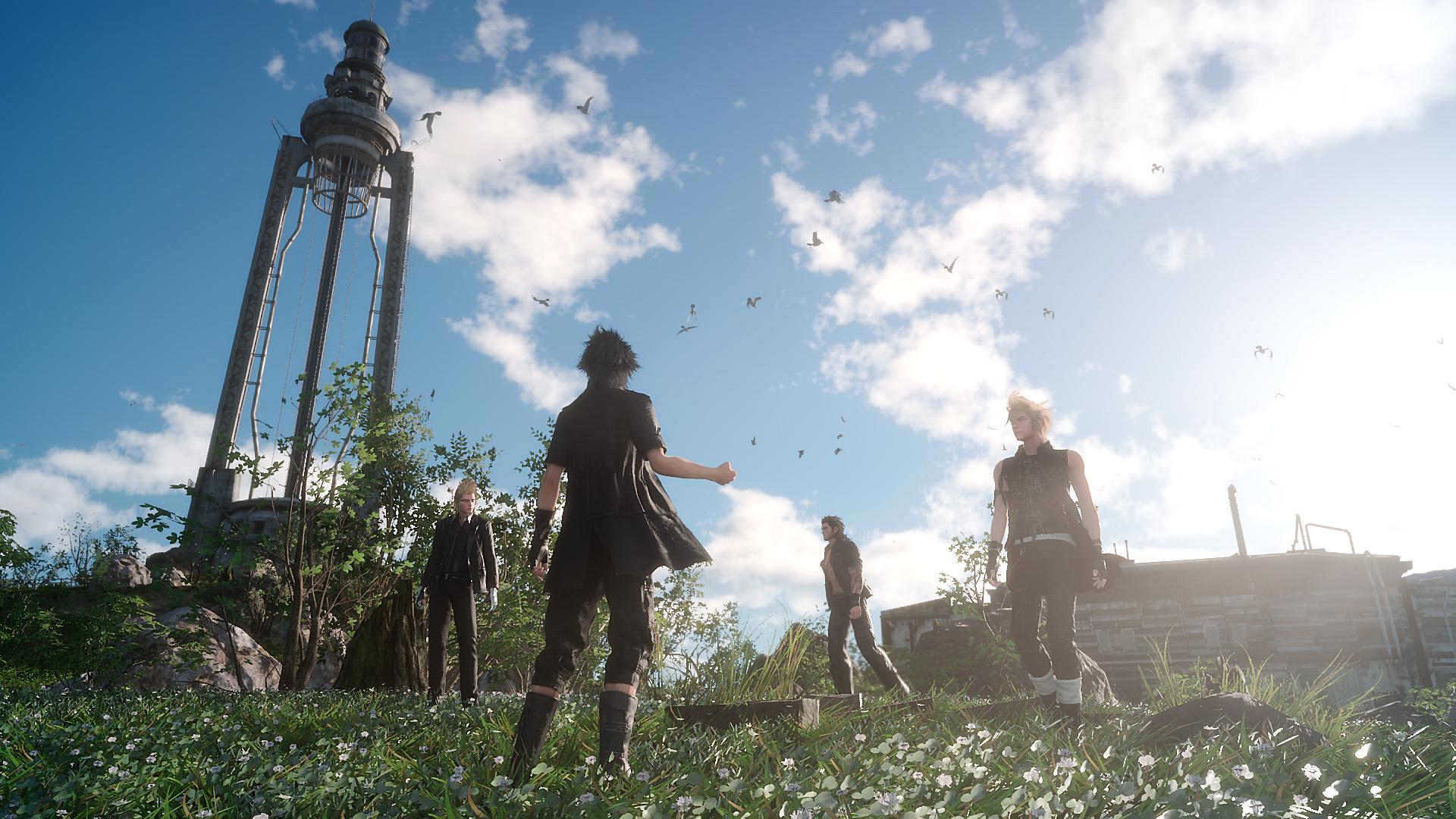 Fotorealismo de Final Fantasy XV fue mucho mayor de lo esperado