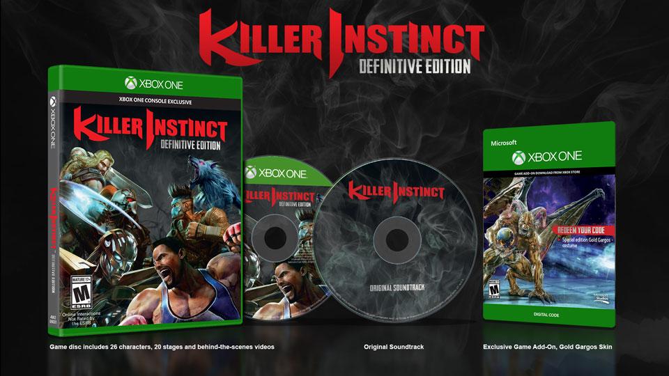 Killer Instinct Definitive Edition Confirmado llega en Septiembre
