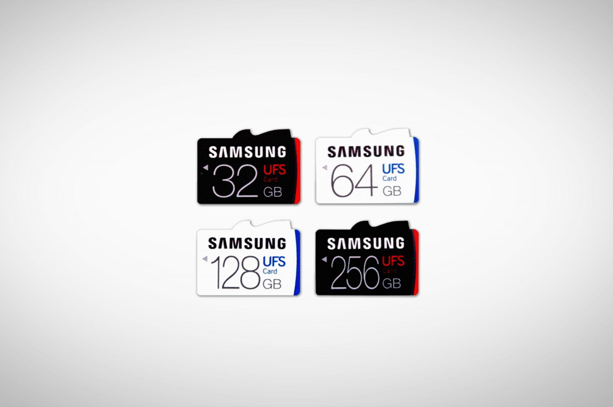 Memoria UFS Samsung