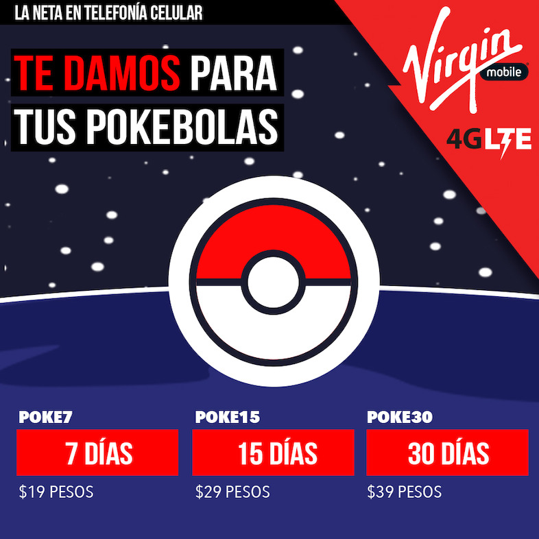 Pokemon Go - Virgin Mobile