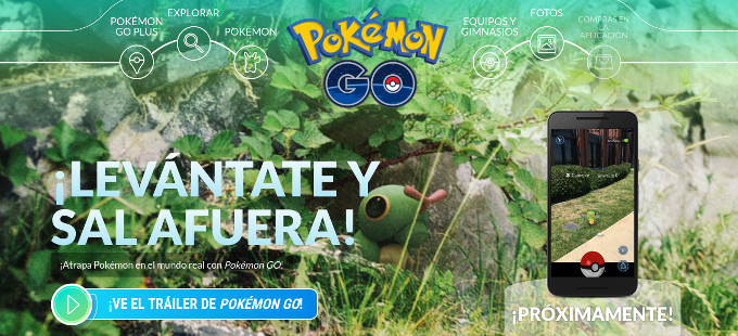Pokemon Go llegaría la siguiente semana a México, lo confirma Virgin Mobile
