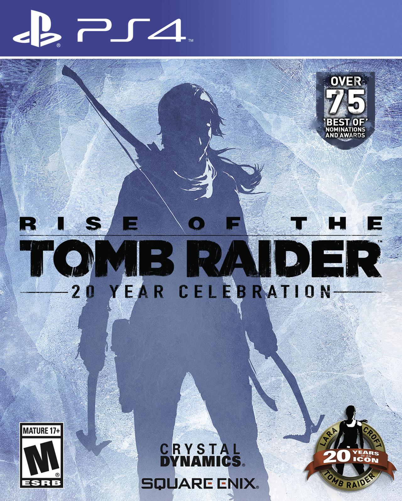 Rise of The Tomb Raider 20 year Celebration ya tiene fecha para PS4