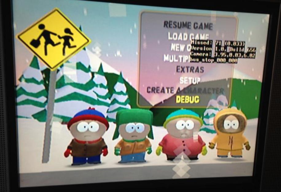 South Park en Xbox 1