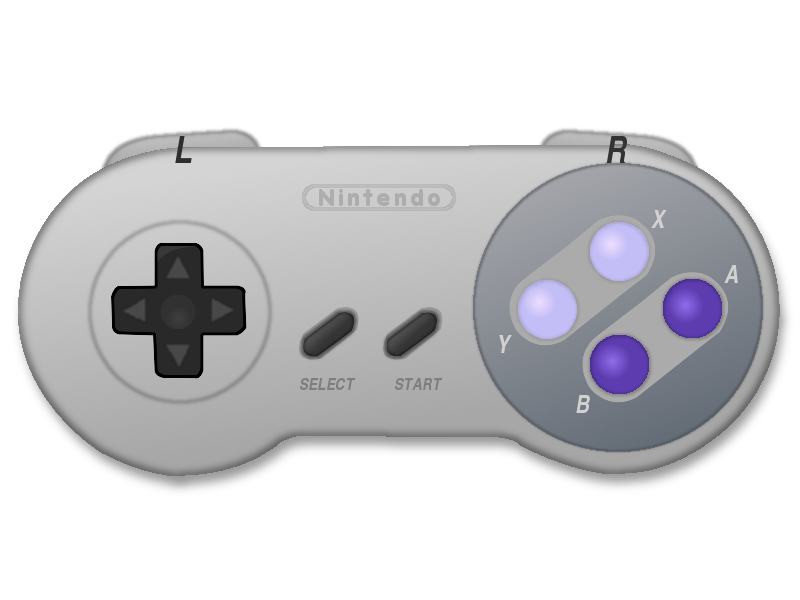 Super Nintendo Control 1