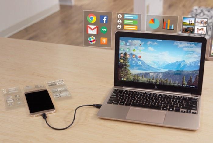Superbook Transforma tu Smartphone en una laptop económica