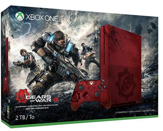 Xbox One S Gears Of War 4 1