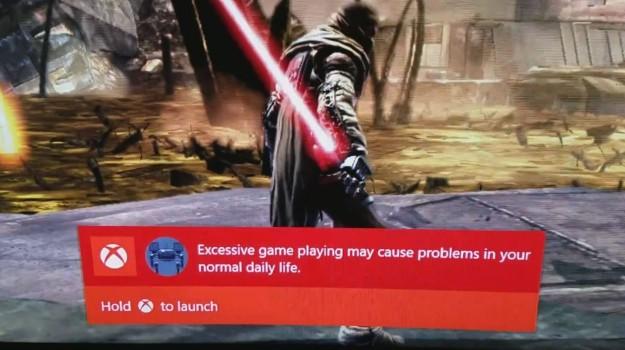 Microsoft Quiere Que juegues Menos Tiempo Xbox One