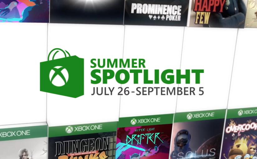 Xbox Summer Spotlight viene cargado de ofertas digitales