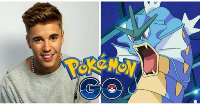 Famosos enloquecen con Pokémon Go
