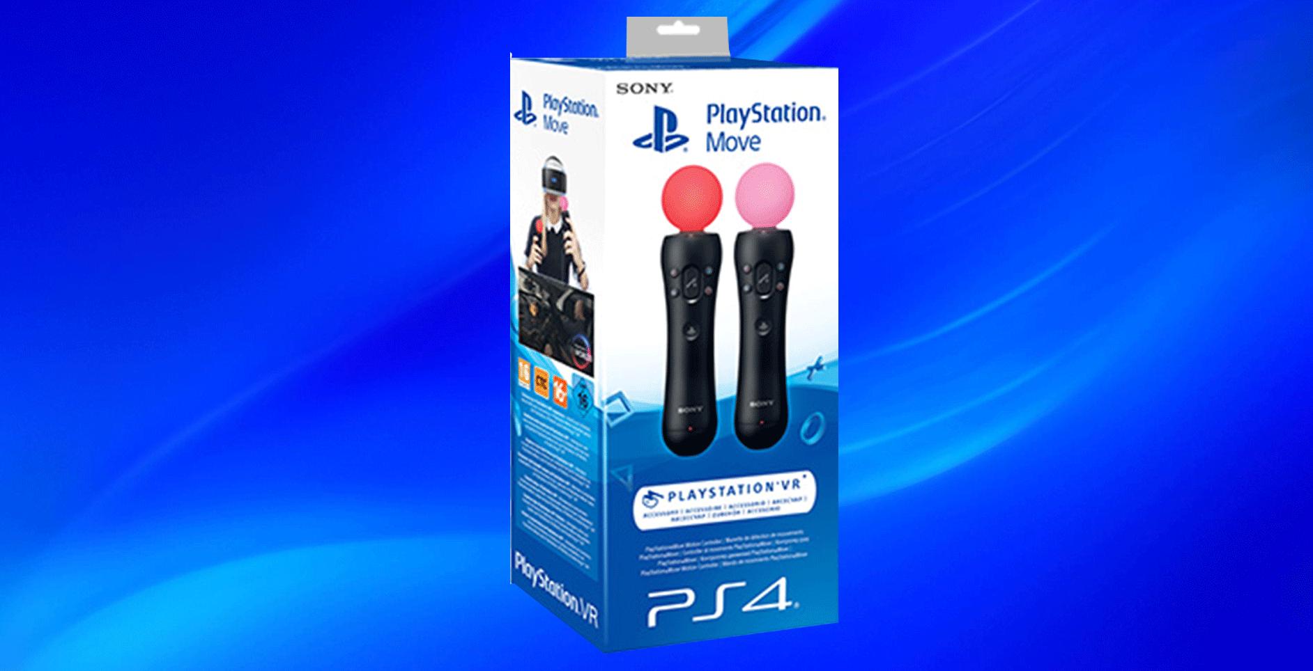 Nuevo PlayStation Move VR Vendrá en paquete de 2 en PS4