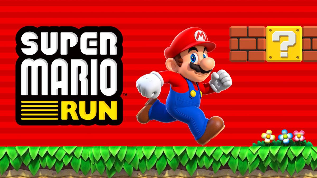 Super Mario Run llega a iOS en Diciembre y a Android en 2017.