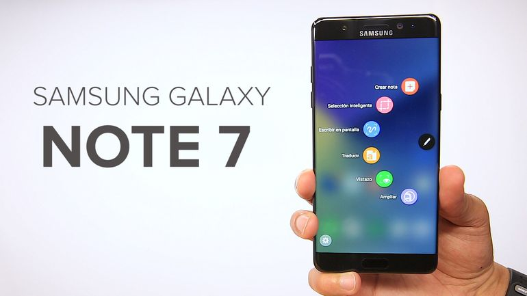 Samsung suspende venta de Galaxy Note 7