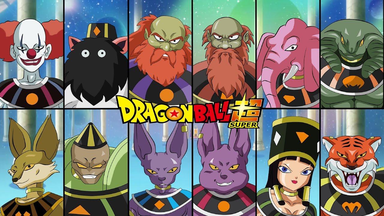 Dragon Ball Super Los doce dioses de la destrucción por fin aparecen