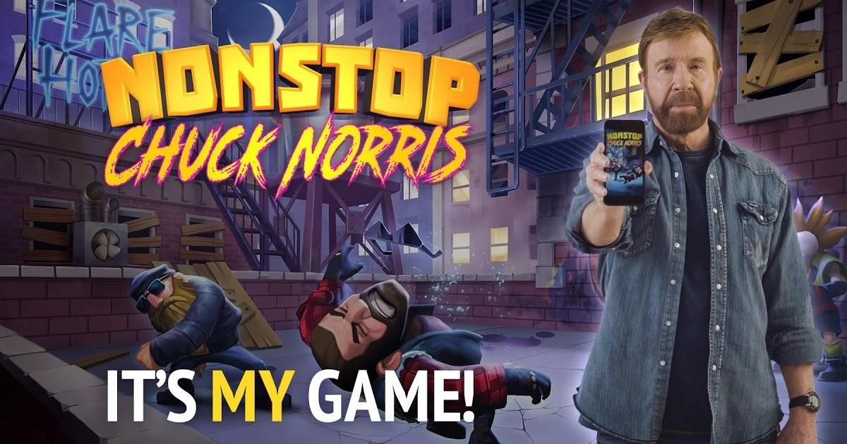 Chuck Norris Nonstop llega a Smartphones… que comience el troleo