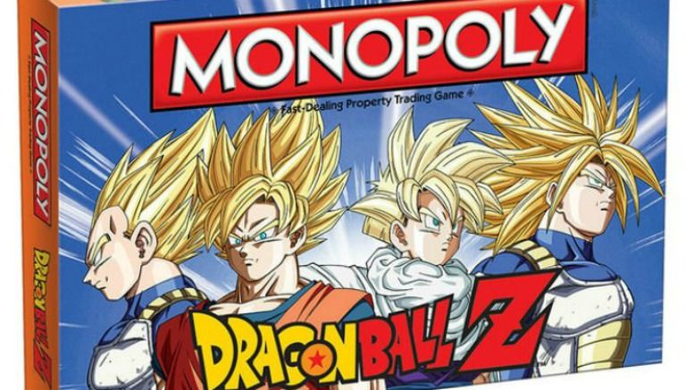 Convierte en Super Sayayin y juega el Monopoly de Dragon Ball Z