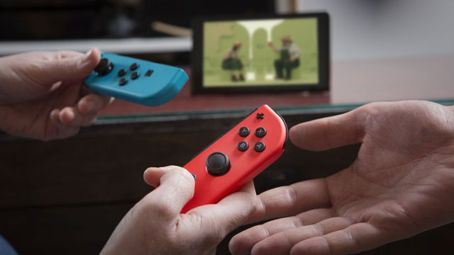 Joy-Con de colores son el error más divertido de Nintendo Switch