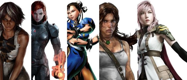 Día de la Mujer : mujeres emblemáticas de los videojuegos